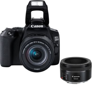 Canon EOS 250D DSLR Portrait Camera Kit