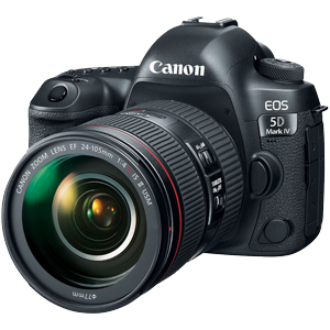 Canon EOS 5D Mark IV DSLR with 24-105mm f/4L IS USM II Lens