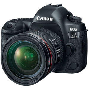 Canon EOS 5D Mark IV DSLR with EF 24-70mm f/4L IS USM Lens