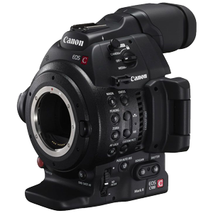 Canon EOS C100 Mark II Cinema Camera - EF Mount (with DAF installed)