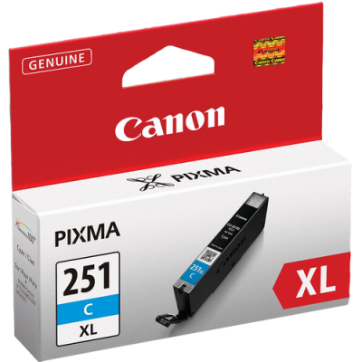 Canon CLI-451C XL Printer Ink (Cyan)