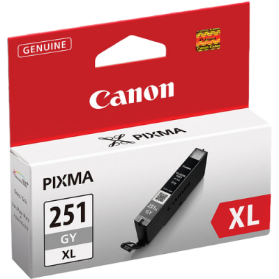 Canon CLI-451GY XL Printer Ink (Grey)