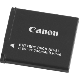 Canon NB-8L Battery Pack