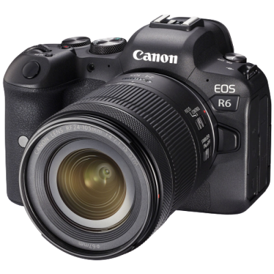 Canon EOS R6 Mirrorless Camera with RF 24-105mm f/4-7.1 IS STM Lens