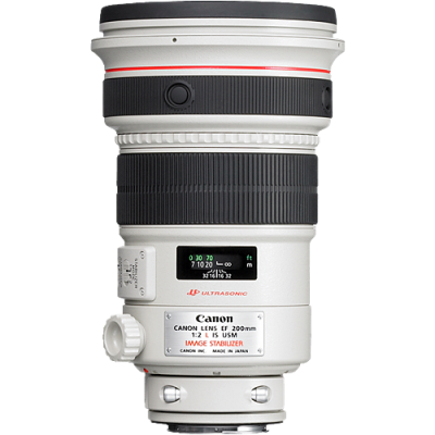 Canon EF 200mm f/2 L IS USM Lens