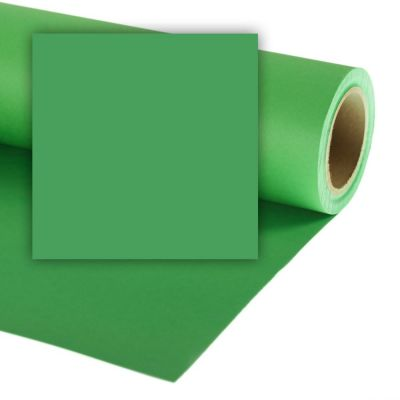 Colorama 1.35 x 11m Background Paper (Chroma Green)
