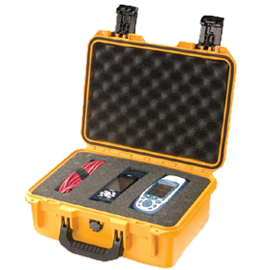Pelican Storm iM2100 Case (Yellow) with Cubed Foam
