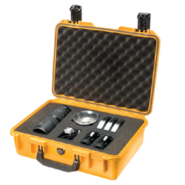 Pelican Storm iM2300 Case (Yellow) with Cubed Foam