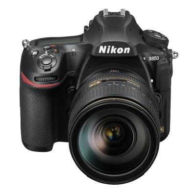 Nikon D850 DSLR Camera Body with 24-120mm f/4G AF-S ED VR Lens