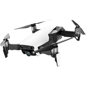 DJI Mavic Air Quadcopter Drone with 4K Camera (Arctic White)