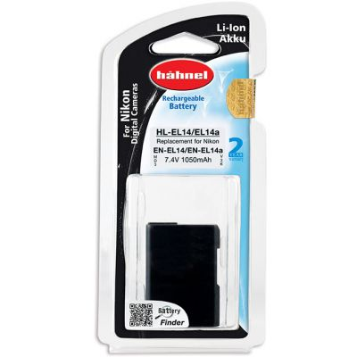 Hahnel HL-EL14 Lithium Ion Battery for Nikon (EN-EL14 / EN-EL14A)