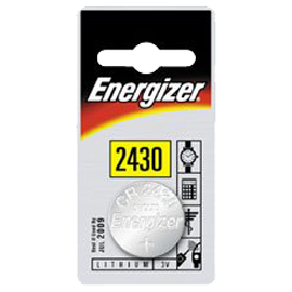 Energizer CR2430 3v Lithium Coin Battery Card 1
