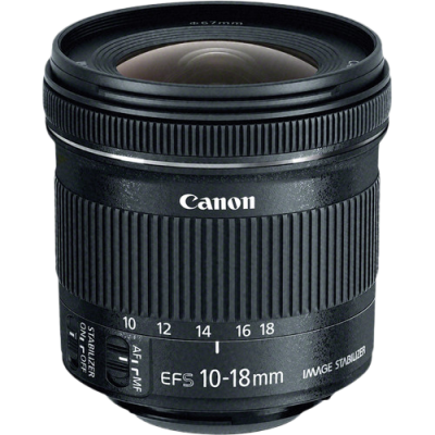 USED Canon EF-S 10-18mm f/4.5-5.6 IS STM Lens - Rating 8/10 (S31641)
