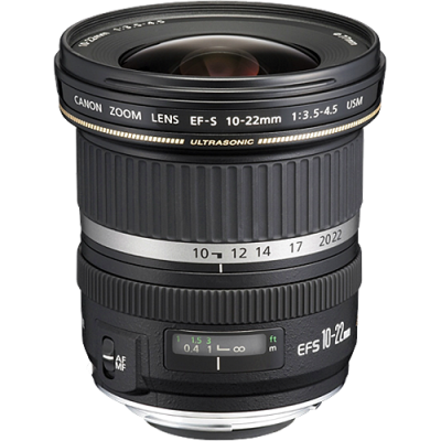 USED Canon EF-S 10-22mm f/3.5-4.5 USM Lens - Rating 7/10 (S31659)