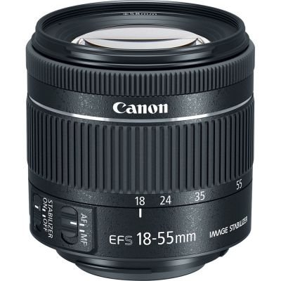 USED Canon EF-S 18-55mm f/4-5.6 IS STM Lens - Rating 8/10 (SH6143)