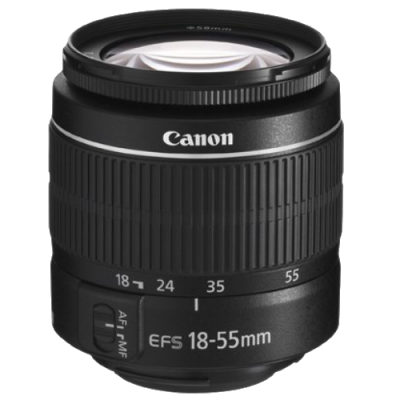 USED Canon EF-S 18-55mm f/3.5-5.6 III Lens - Rating 7/10 (S31072)