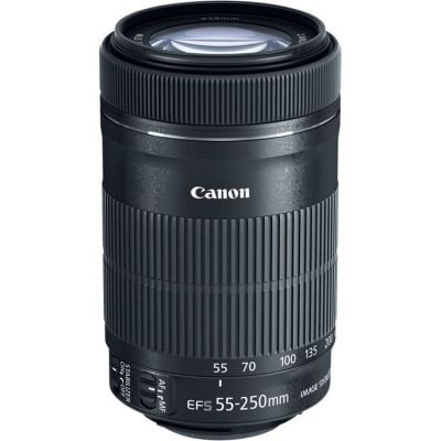 USED Canon EF-S 55-250mm f/4-5.6 IS STM Lens - Rating 8/10 (S31433)