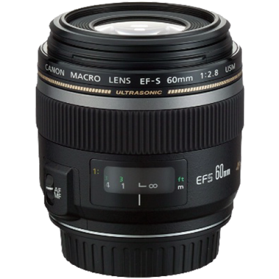USED Canon EF-S 60mm f/2.8 Macro USM Lens - Rating 8/10 (S31640)