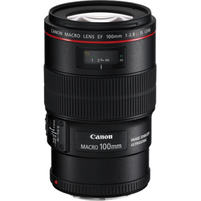 USED Canon EF 100mm f/2.8 L IS Macro USM Lens - Rating 8/10 (S31997)