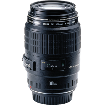 USED Canon EF 100mm f/2.8 Macro USM Lens - Rating 8/10 (S31344)