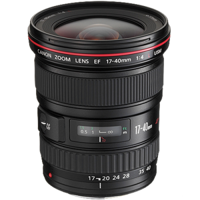 USED Canon EF 17-40mm f/4 L USM Lens - Rating 7/10 (S31345)
