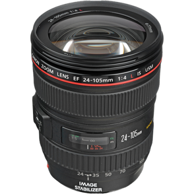 USED Canon EF 24-105mm f/4 L IS USM Lens - Rating 7/10 (S31102)