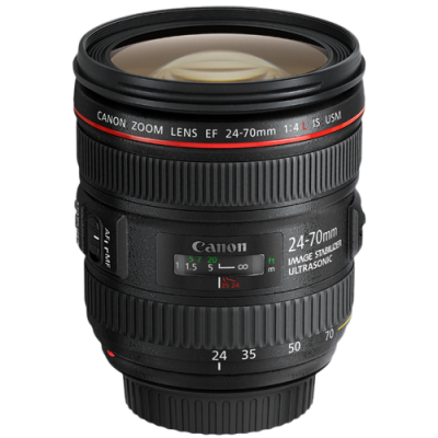 USED Canon EF 24-70mm f/4 L IS USM Lens - Rating 8/10 (S31098)
