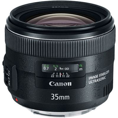 USED Canon EF 35mm f/2 IS USM Lens - Rating 7/10 (S31388)