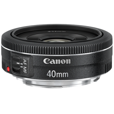 USED Canon EF 40mm f/2.8 STM Lens - Rating 7/10 (S31616)