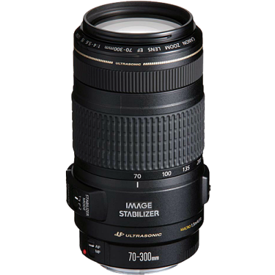 USED Canon EF 70-300mm f/4-5.6 IS USM Lens - Rating 7/10 (S31303)