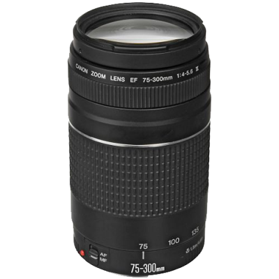 Refurbished Canon EF 75-300mm f/4-5.6 III Lens (CANR088)
