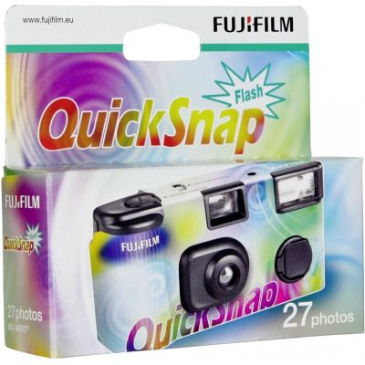 Fujifilm Quicksnap Flash 400 Disposable Camera
