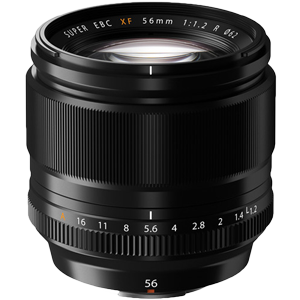 Fujifilm XF 56mm f/1.2 R Prime Lens (R2500 Cash Back with Fujifilm)