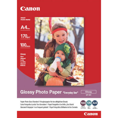 Canon GP-501 Glossy Photo Paper (A4 - 100 Sheets)