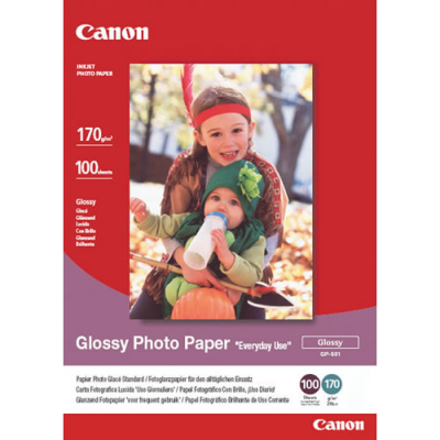 Canon GP-501 Glossy Photo Paper (10 x 15cm - 100 Sheets)