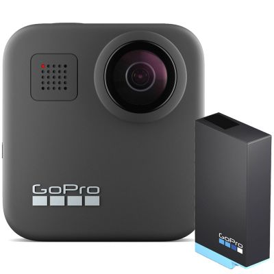 GoPro Max 360 Degree Action Camera Plus Free Additional GoPro Max Rechargeable Battery