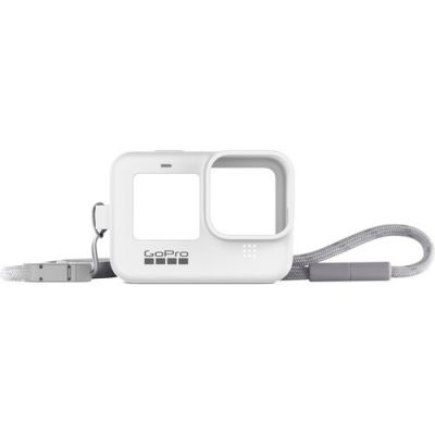 GoPro Sleeve and Lanyard for HERO9 (White)