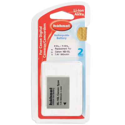 Hahnel HL-10L Lithium Ion Battery for Canon (NB-10L)