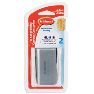 Hahnel HL-916 Lithium Ion Battery for Canon (BP-916 / BP-945 / BP-970)