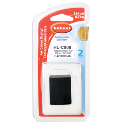 Hahnel HL-C808 Lithium Ion Battery for Canon (BP-808)