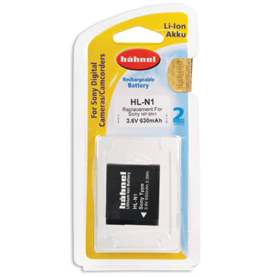 Hahnel HL-N1 Lithium Ion Battery for Sony (NB-BN1)