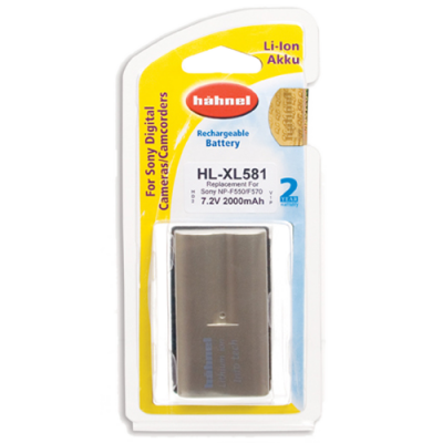 Hahnel HL-XL581 Lithium Ion Battery for Sony (NP-F530 / F550 / F570)