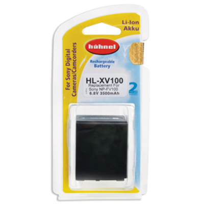 Hahnel HL-XV100 Lithium Ion Battery for Sony (NP-FV100)