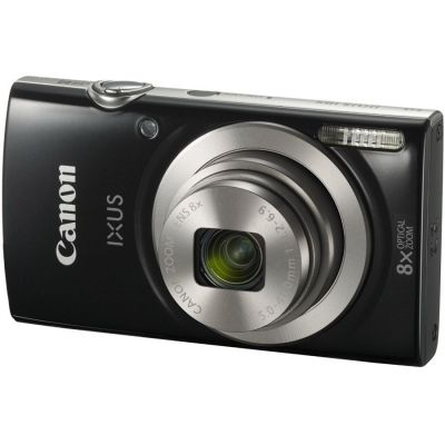 Refurbished Canon IXUS 185 Camera (Black) (CANR104)