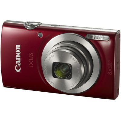 Refurbished Canon IXUS 185 Camera (Red) (CANR105)