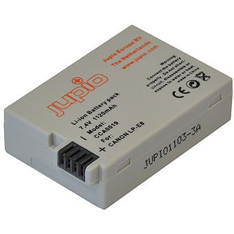 Jupio 1120mAh Battery for Canon LP-E8