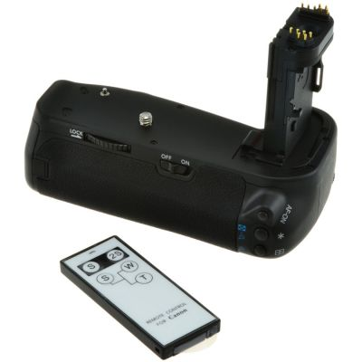 Jupio Battery Grip and Remote for Canon EOS 6D (BG-E13)