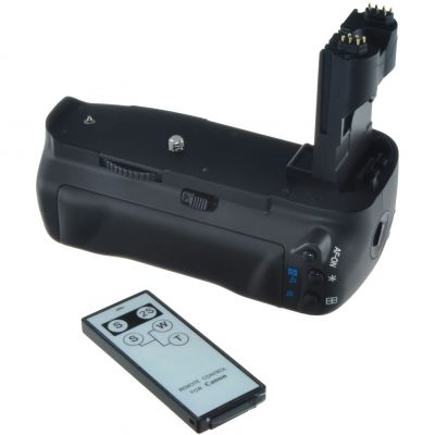 Jupio Battery Grip and Remote for Canon EOS 70D (BG-E17)