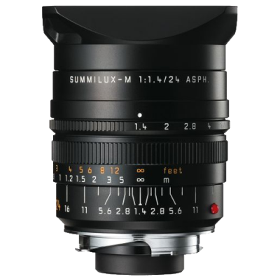 Leica SUMMILUX-M 24mm f/1.4 ASPH. Wide-Angle Lens (Discontinued)