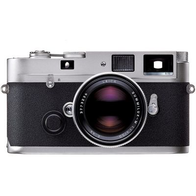 Leica MP 0.72 Rangefinder Camera (Silver)
